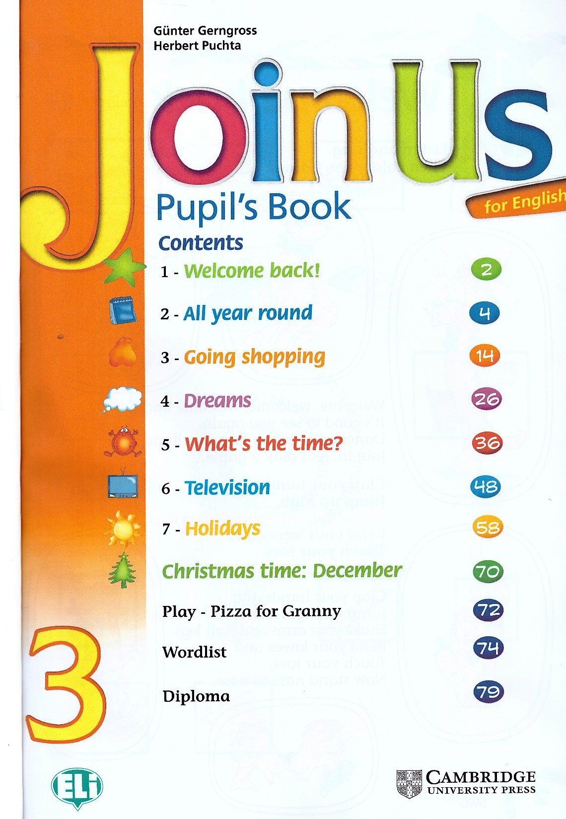 Изображение Join Us for English 3 Pupil's Book страница 1